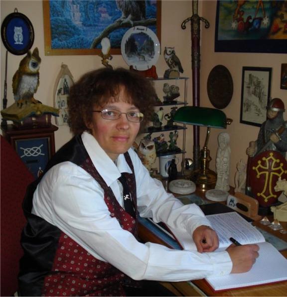 L'auteur Magali Cazottes