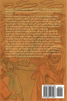 Dernière de couverture de Al-Hashashiya, le monde des Assassins