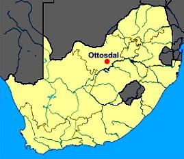 Ces sphères ont été trouvées dans une mine près d'Ottosdal, en Afrique du Sud.