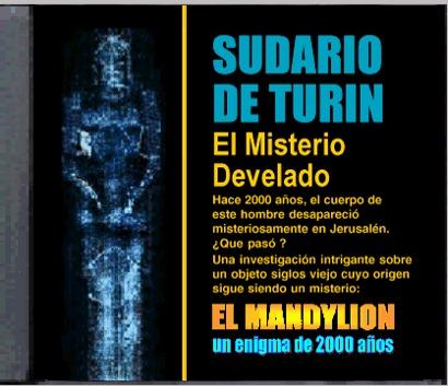 Investigación sobre el Mandylion y el Sudario de Turín. Programa de computadora de la PC. Haga clic AQUÍ para descargar
