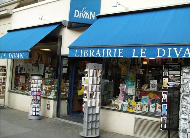 Librairie Le Divan à Paris 15eme où l'on trouve L'AFFAIRE MORMON et LE CODE TEMPLIER
