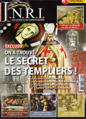 revue I.N.R.I. LES SECRETS DU CHRISTIANISME.
